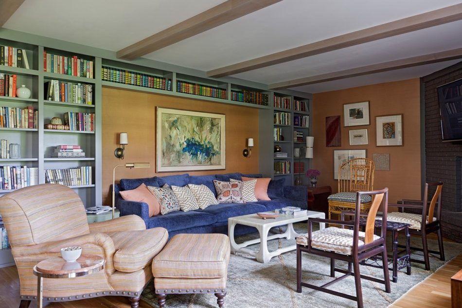 Indiana living room by Angie Hranowsky