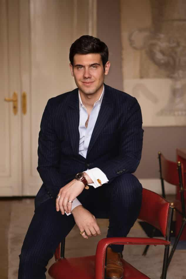 Alex Assouline, vice president of Assouline Publishing and son of the company's founders