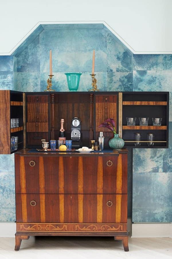 Alexandra Loew-designed bar in Long Island, NY