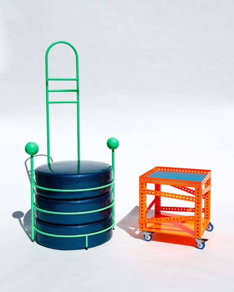 Another Human Zorg chair and rebi side table