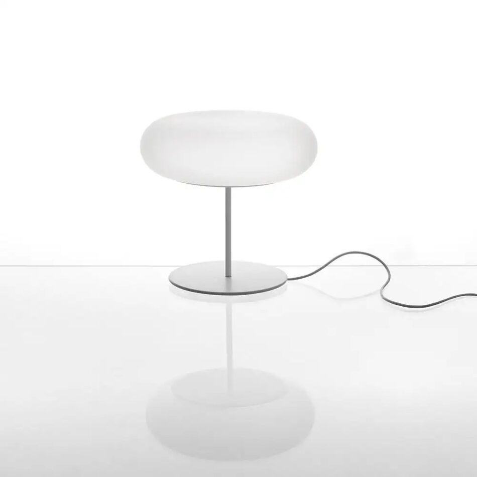 Artemide Itka Table Light in White by Naoto Fukasawa