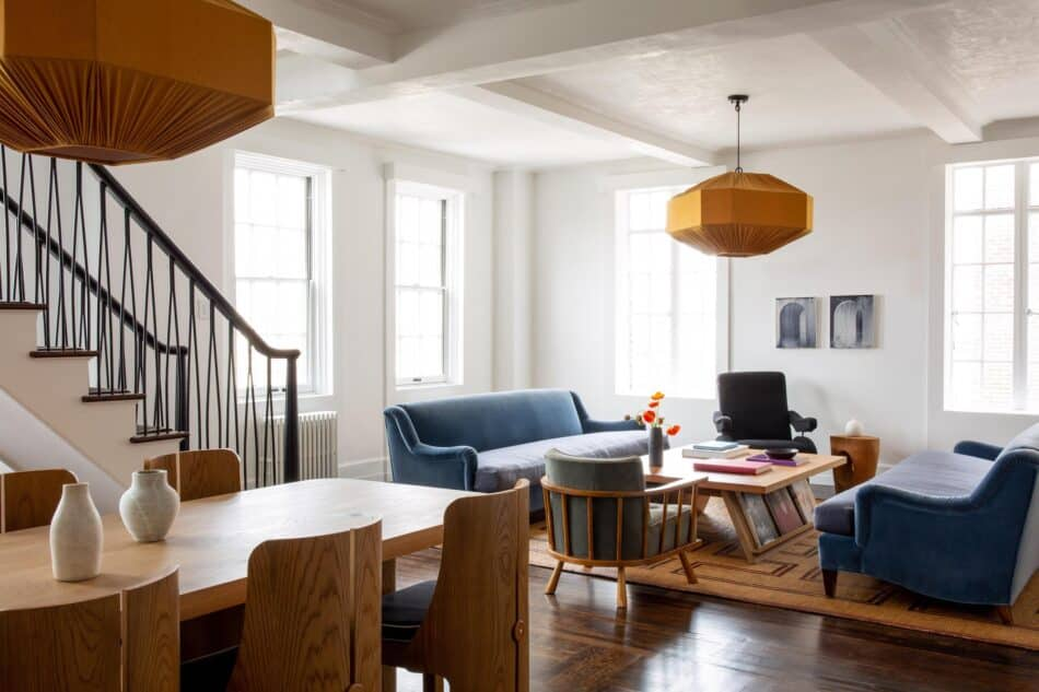 Greenwich Village dining room by Ashe + Leandro