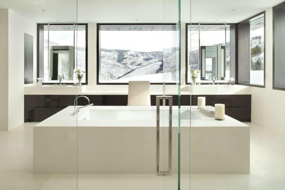 Pembrooke & Ives bathroom in Aspen, CO