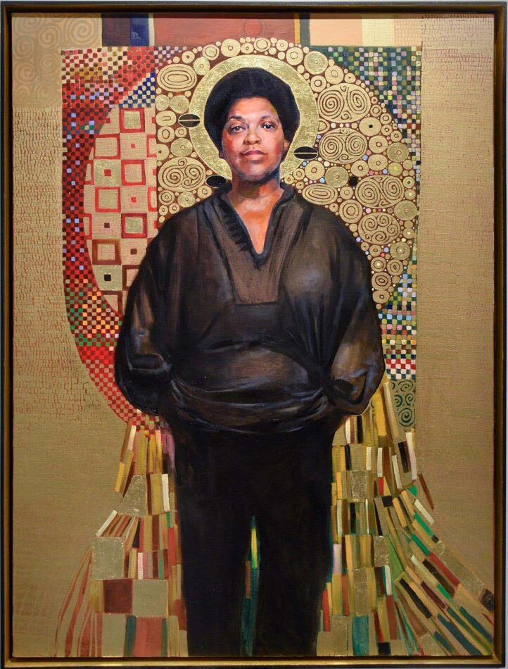 Audre Lorde, 2019, by Carl Grauer
