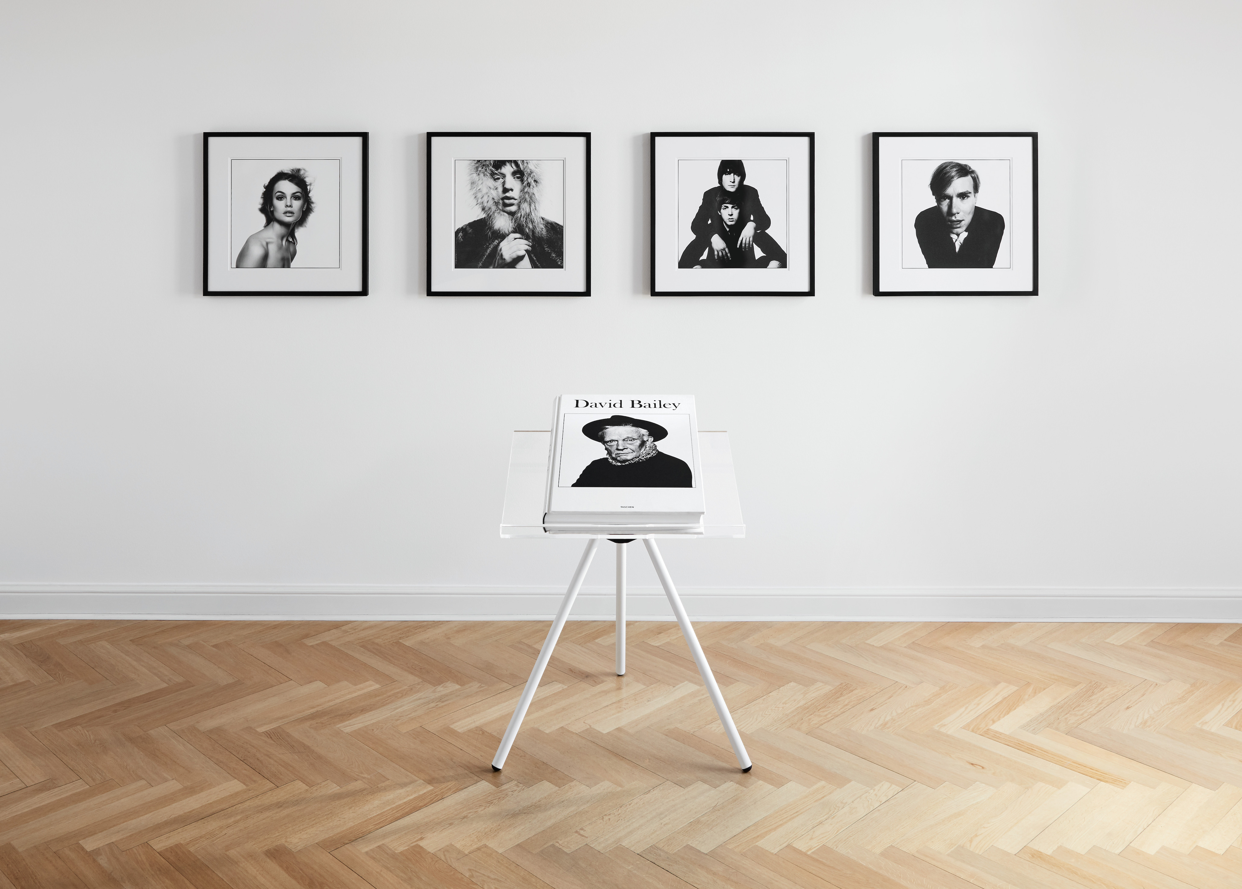 David Bailey SUMO book with photos of Jean Shrimpton, 1965; Mick Jagger, 1964; Andy Warhol, 1965