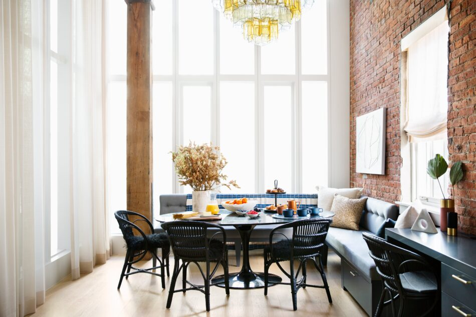Dumbo dining room by Bella Mancini
