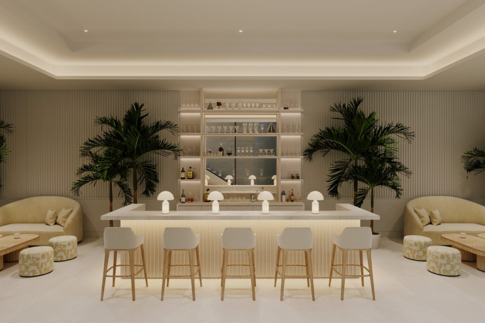 Dubai bar by Alix Lawson