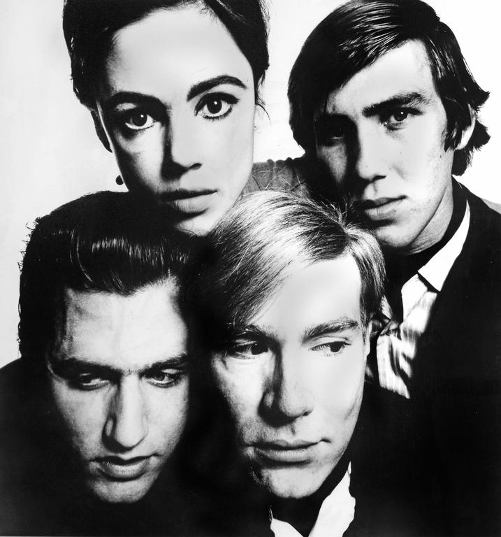 Andy Warhol and the Gang, 1965, by David Bailey