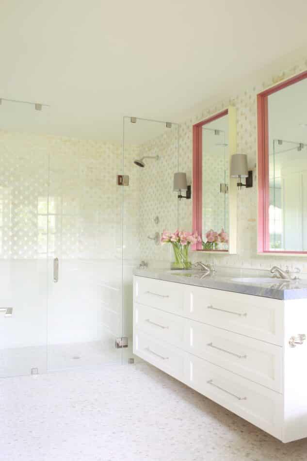 Lisa Tharp-designed bathroom
