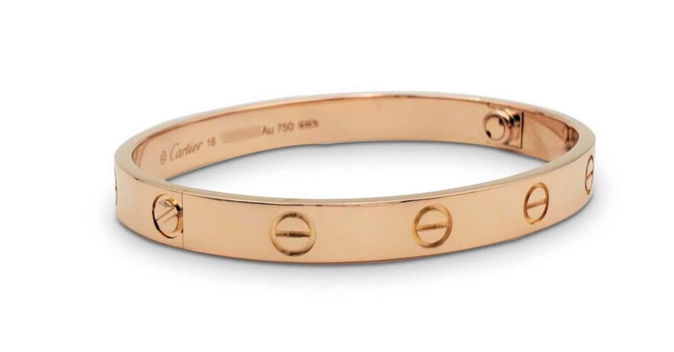 Cartier Love bracelet in rose gold, 2010s