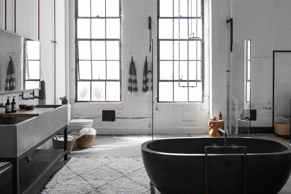 loft bathroom by Alexander Design