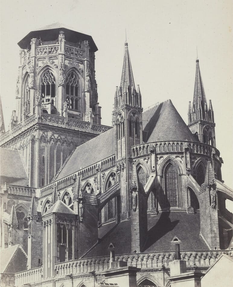 Apse Of The Cathedral, Europe, 1860s, by the Bisson brothers
