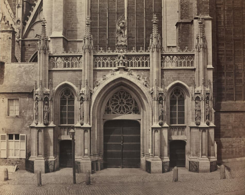 Unidentified Church Doors, 1860s, by the Bisson brothers