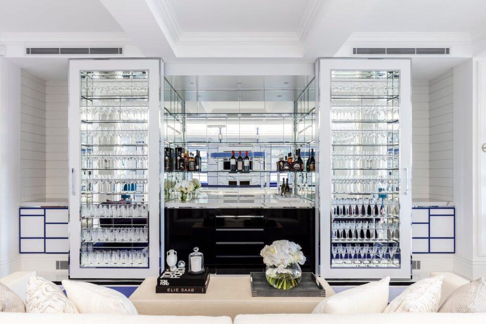Bar in Palm Beach, Australia by Blainey North