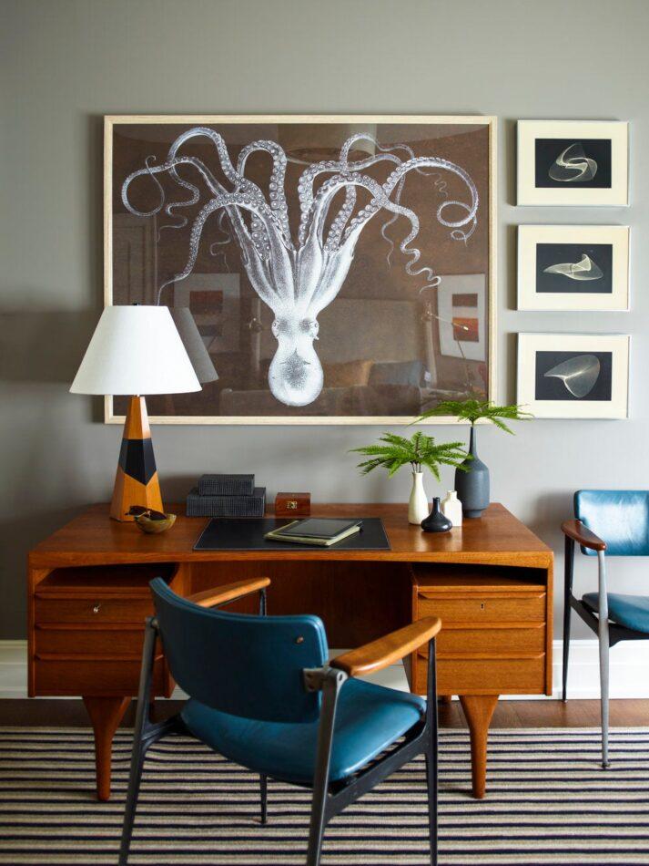 Dumais Inc-designed home office in Bridgehampton