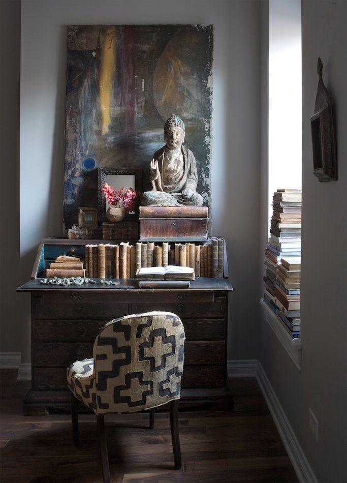 Michael Del Piero home office