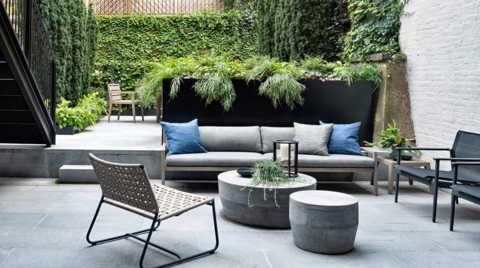 Brooklyn garden by Deborah Berke