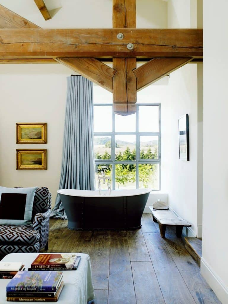 A comfy barn-house in Languedoc designed by Samantha Todhunter