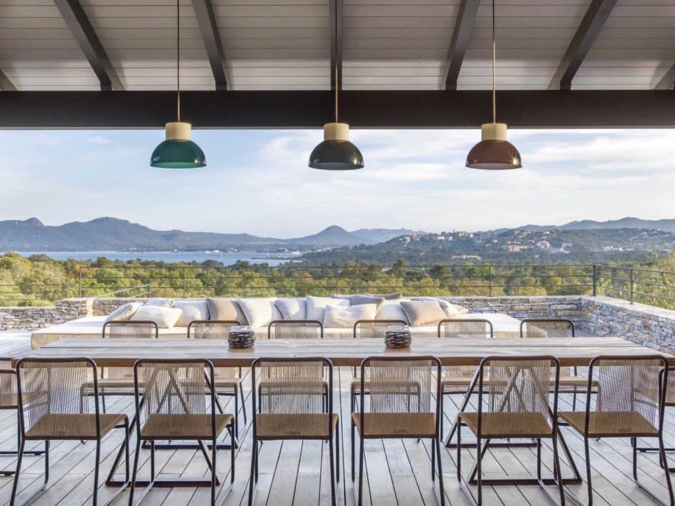 Corsica patio by Jean-Louis Deniot