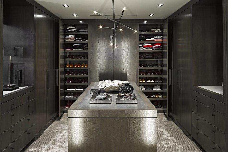 Jamie Bush-designed closet in Beverly Hills