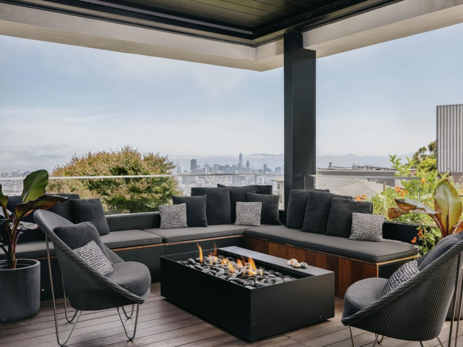 Sean Leffers-designed patio in San Francisco