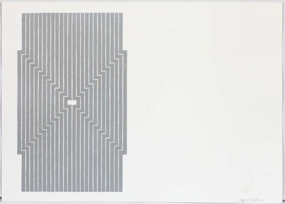 Six Mile Bottom, 1970, by Frank Stella