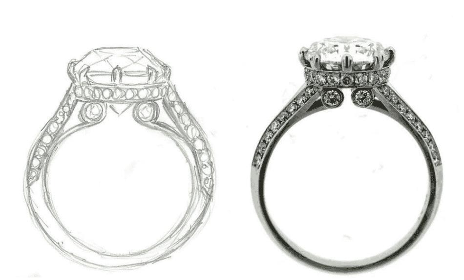 Concierge Diamonds engagement ring