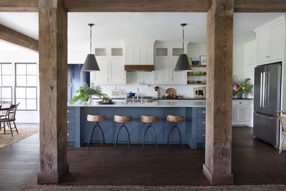 farmhouse kitchen by Cloth & Kind