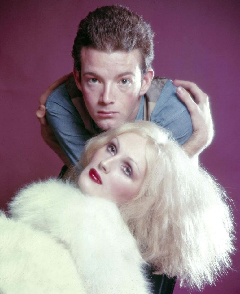 Warhol Superstars Jackie Curtis and Candy Darling in Vain Victory, 1971, by Jack Mitchell