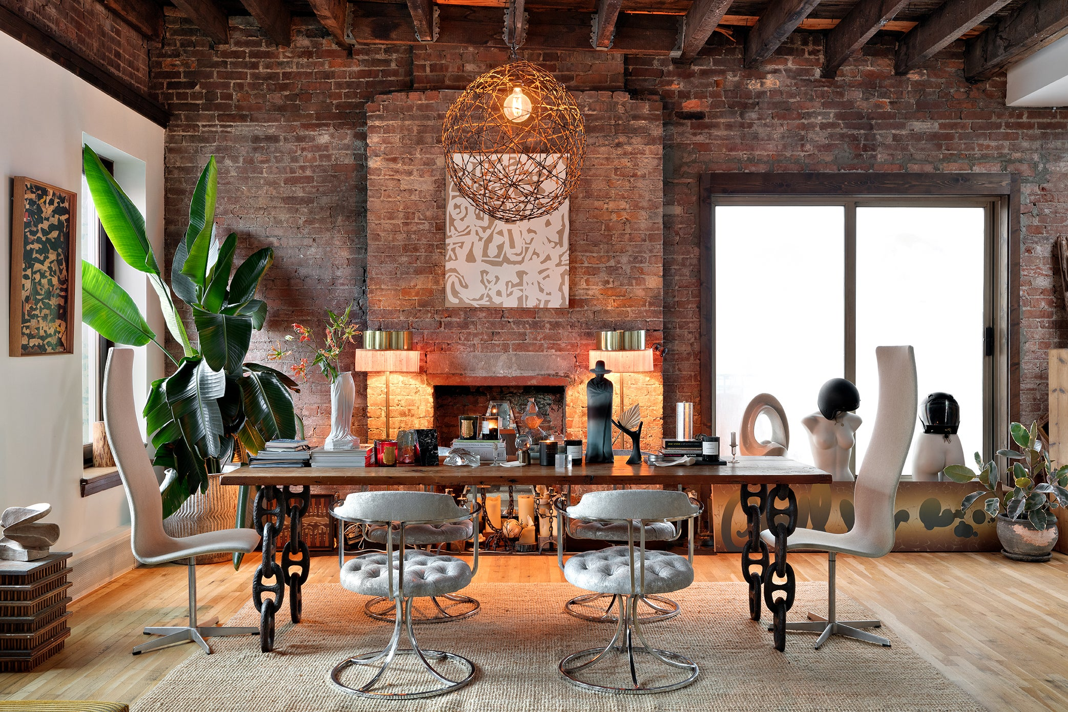 New York City loft designed by Evan Edward Interiors