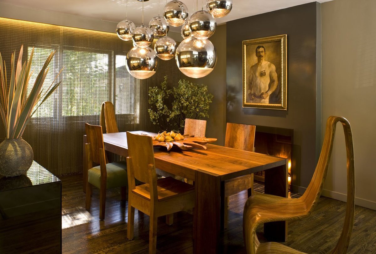 Jeff Andrews Beverly Hills dining room