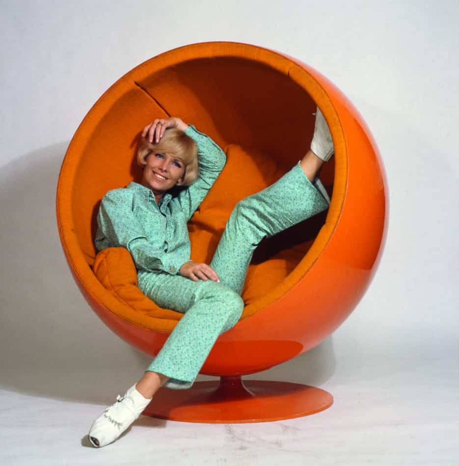 orange Ball chair