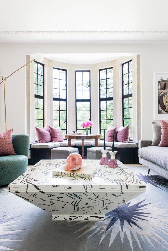Courtney Bishop-designed living room in Atlanta, GA.