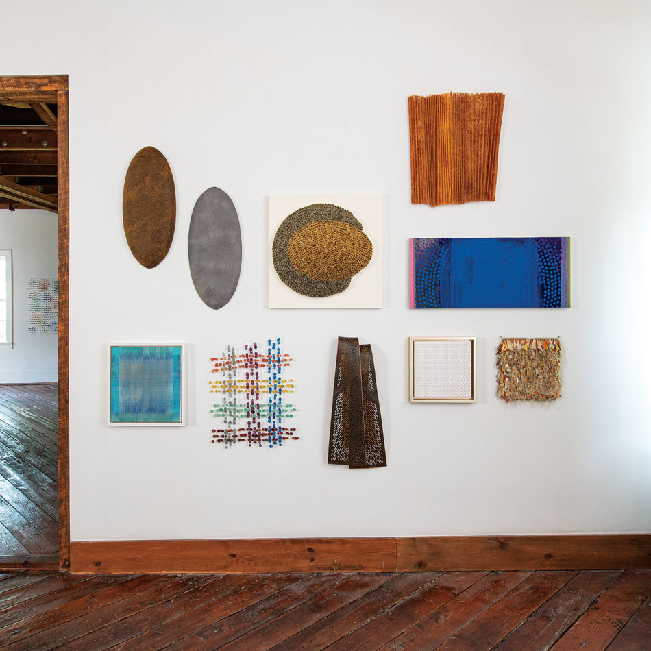 "Smaller works in browngrotta arts' ""Volume 50"" show"