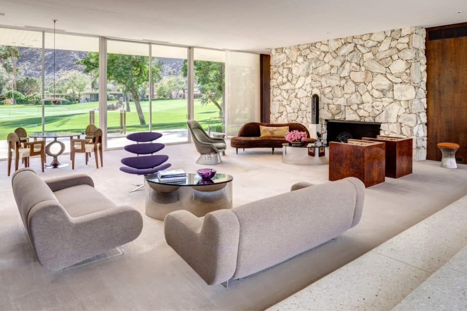 Formarch living room in Indian Wells, CA