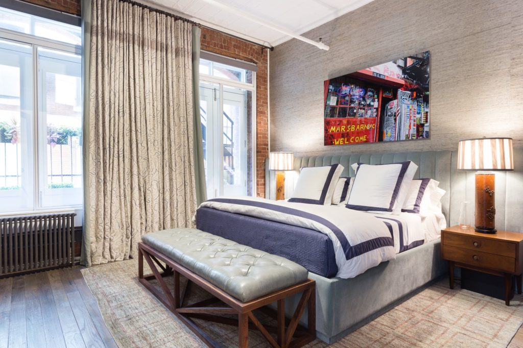 loft bedroom by Drew McGukin