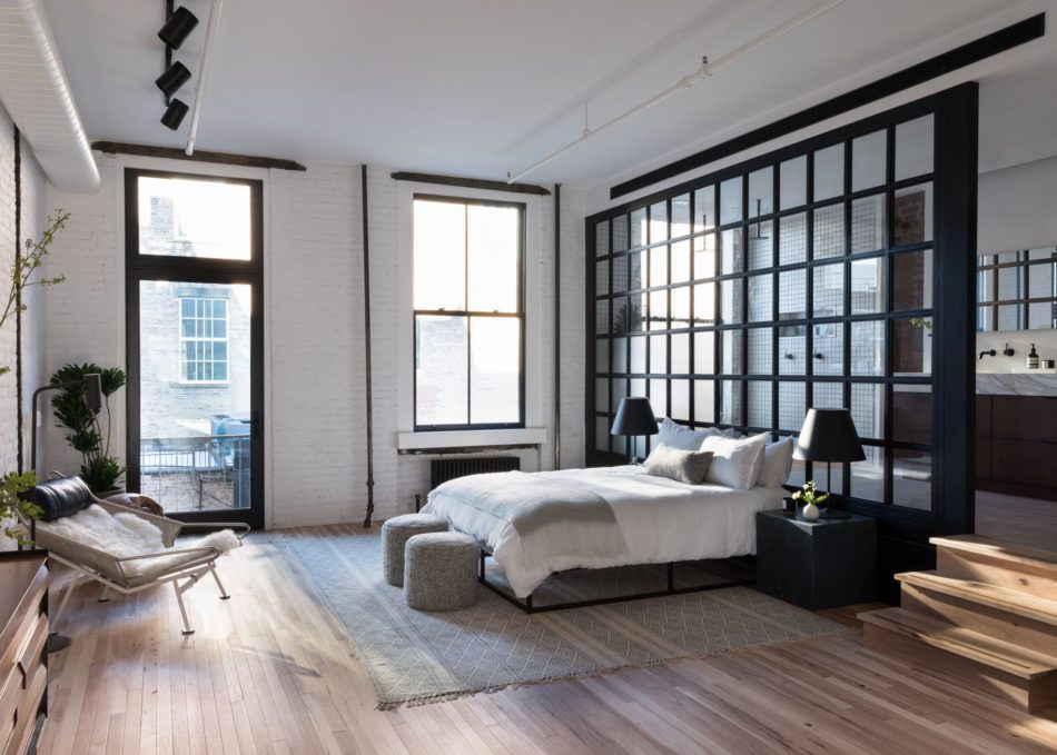 Becky Shea bedroom in Soho