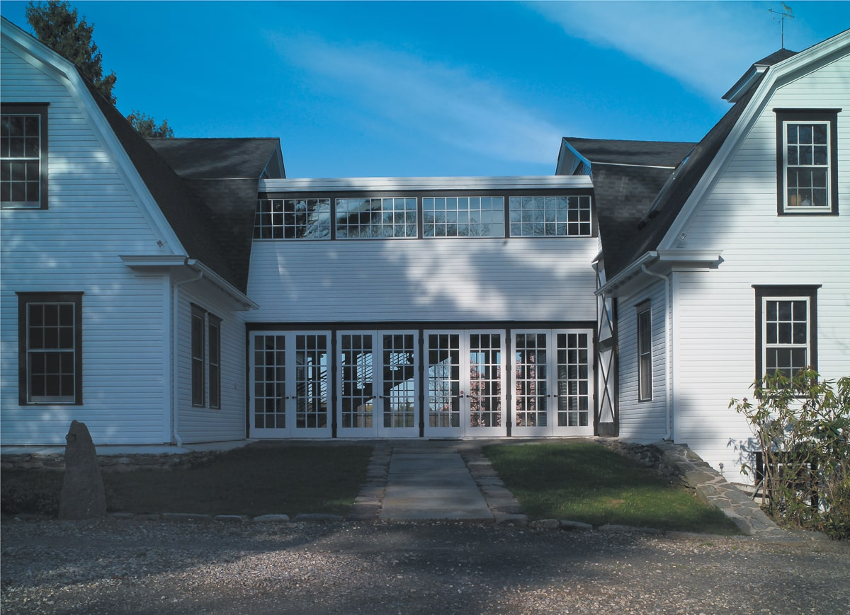 Rhonda Brown and Tom Grotta's Wilton, Connecticut, home and gallery