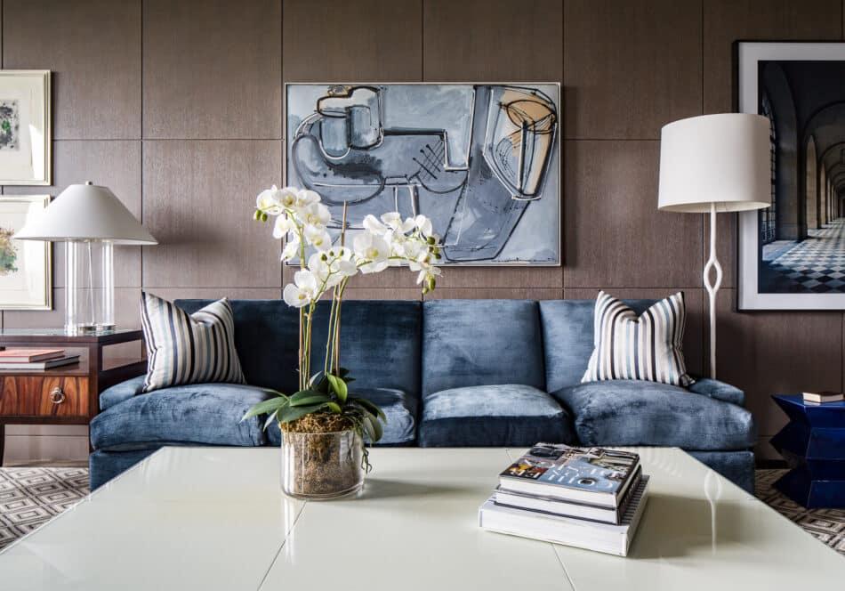 Living room by Eric Cohler in Manhattan