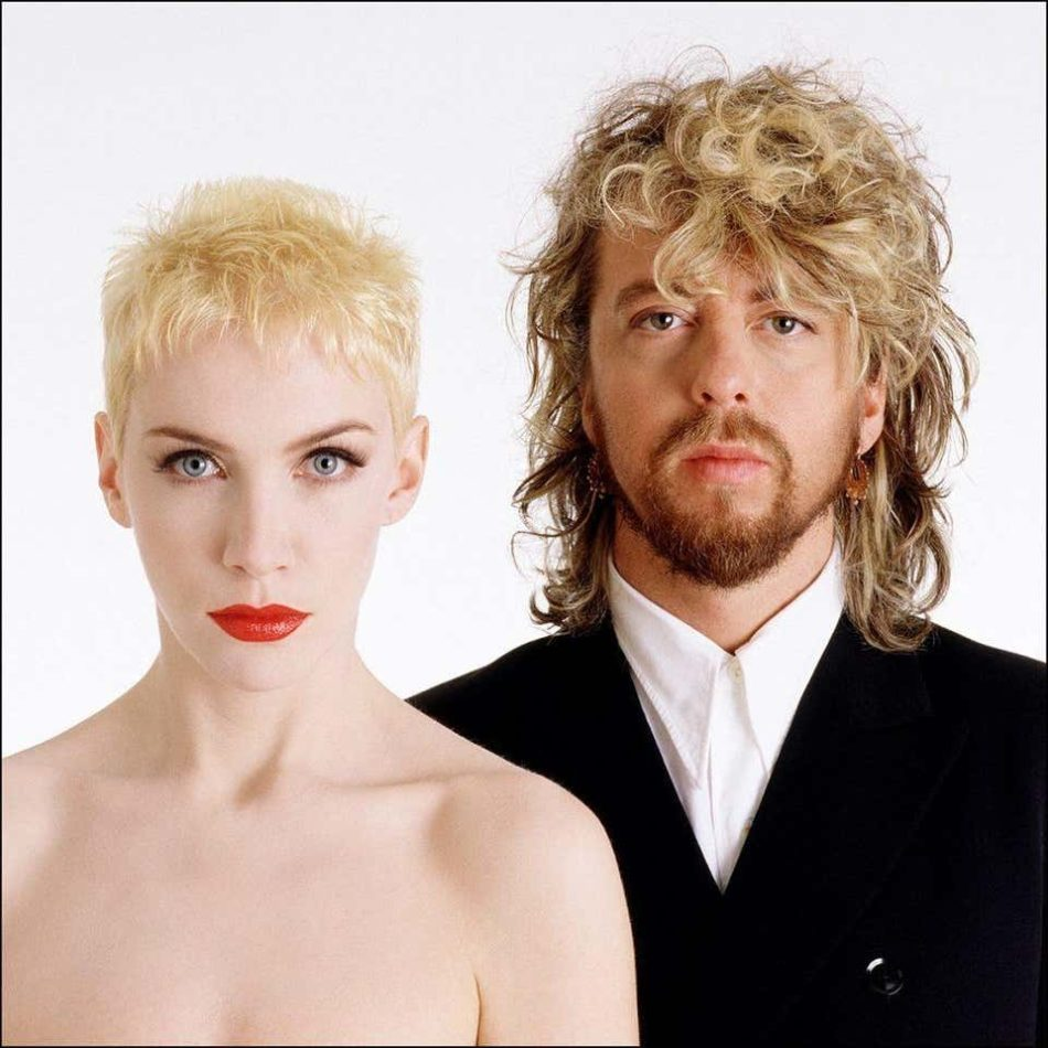 Eurythmics, 1986, by Gered Mankowitz