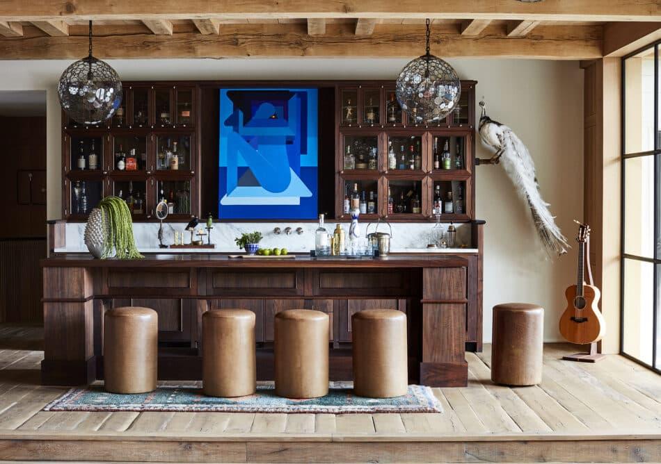 Fern Santini-designed bar in Austin, TX