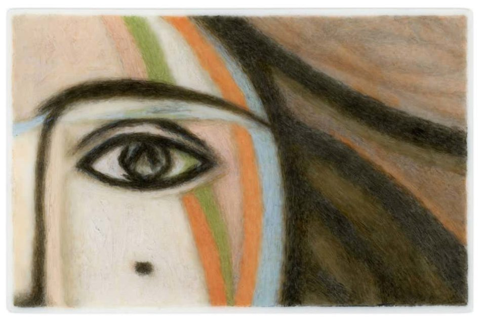 Lover's Eye III: Francoise (after Picasso), 2015, by Tabitha Vevers