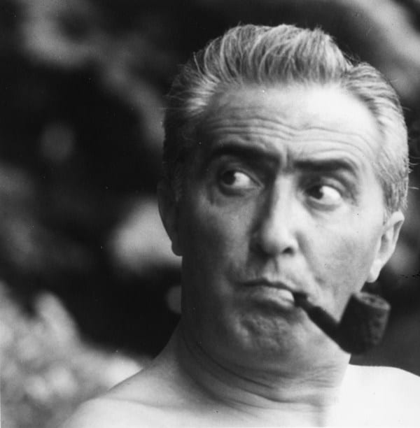 Portrait of Gino Sarfatti.