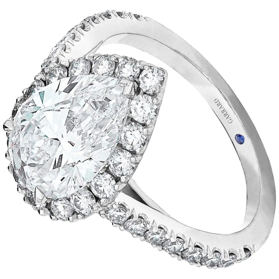 Garrard Evermore diamond ring, 2019