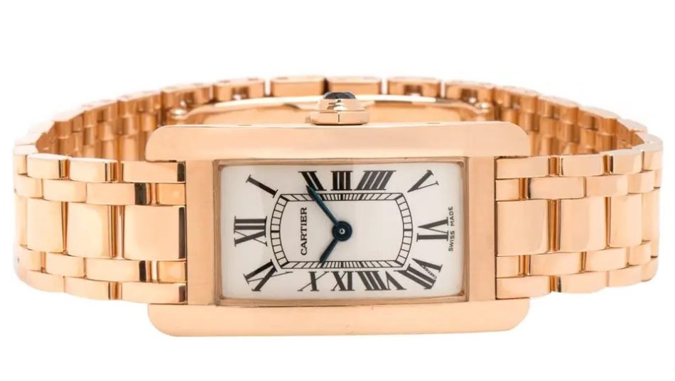 Cartier Tank Americaine, 2015, offered by Gemma by WP Diamonds