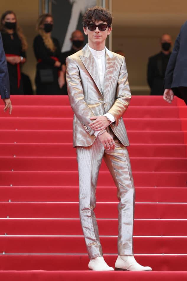 Timothée Chalamet at the Cannes Film Festival in July 2021
