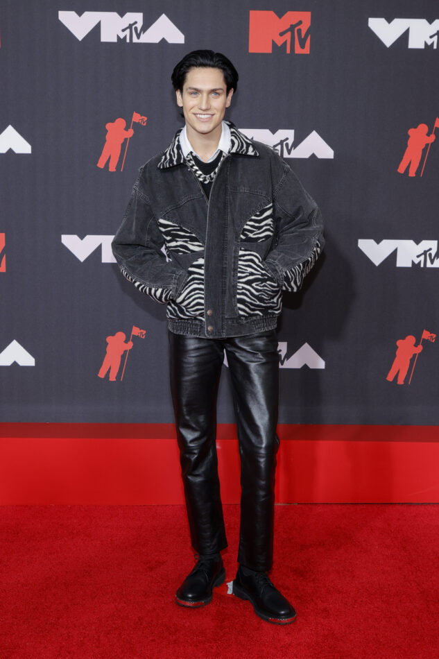 Lil Huddy at the MTV Video Music Awards in 2021