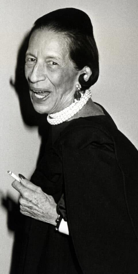 Diana Vreeland often wore a Bulgari snake belt around her neck.