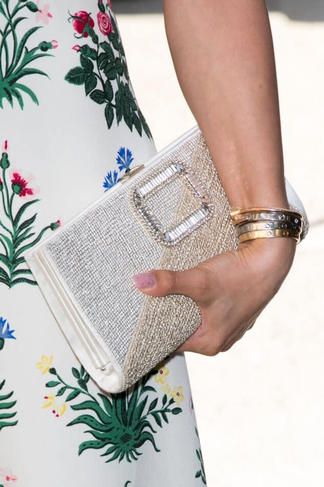 Cartier's Juste un Clou and multiple Love bracelets.