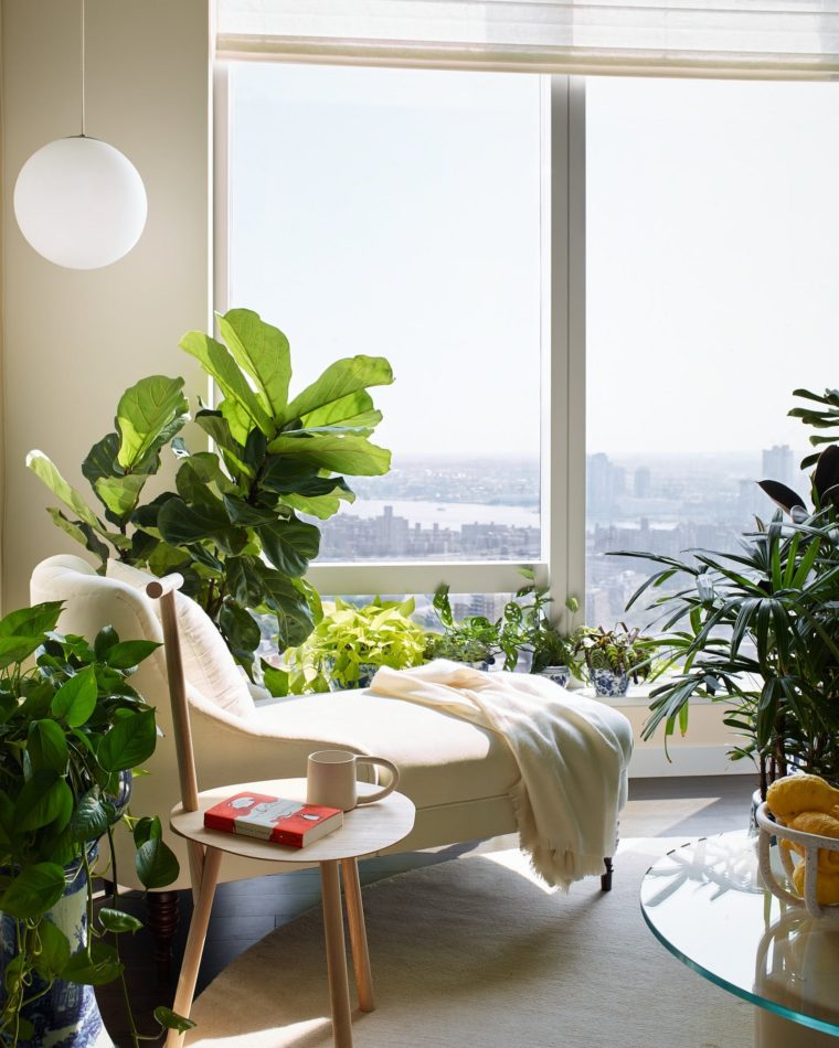 New York reading nook by Anna Karlin